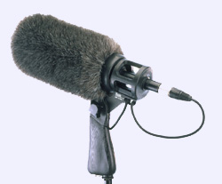 Rycote softie -  pistol grip and boom mic