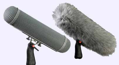 Rycote windsheild and wind jammer