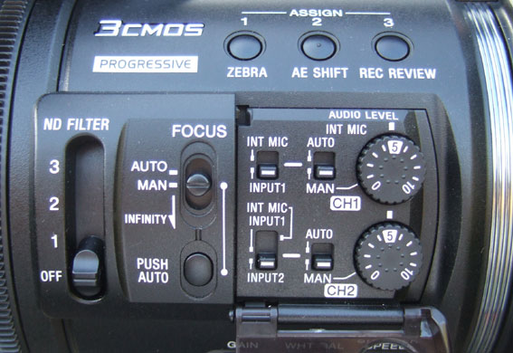 Audio controls on Sony Z5