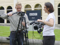 BBC video journalists course